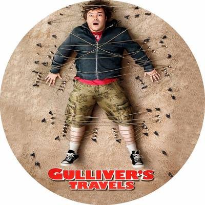 Jack Black is Lemuel Gulliver