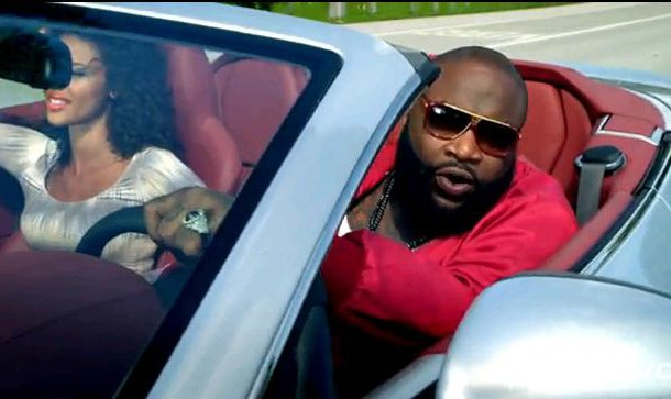 "rick ross and drake play ""aston martin music"" - product placement news"